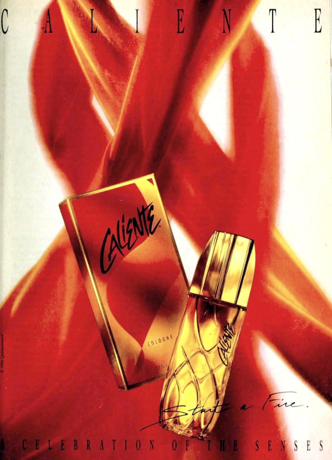 Caliente fragrance (1993) at ClickAmericana.com
