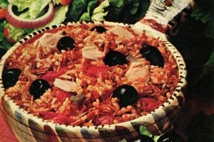 California Siesta Fiesta Rice with tuna & tomatoes (1976)