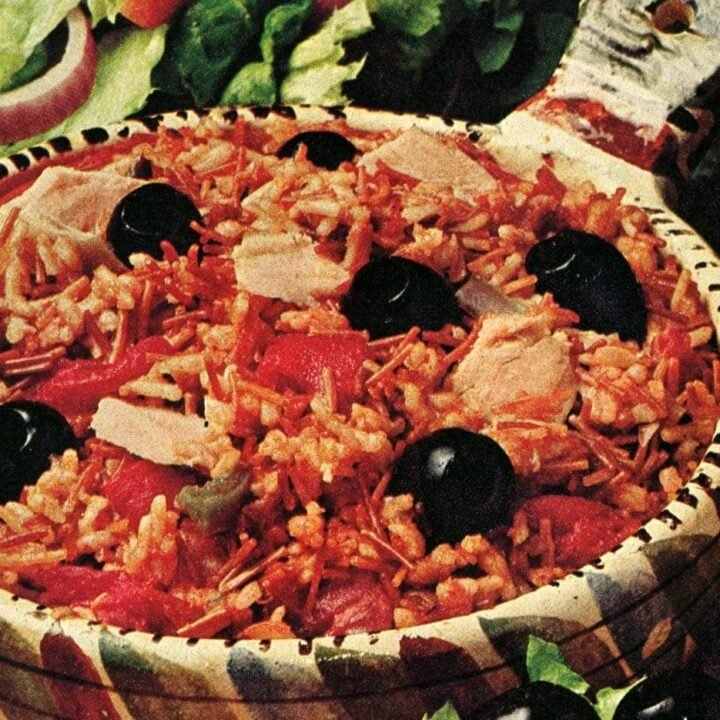 California Siesta Fiesta Rice with tuna & tomatoes (1976)