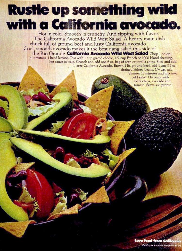 California avocado wild west salad CAAB