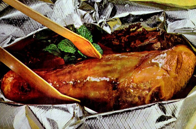 California lamb shanks recipe 1964