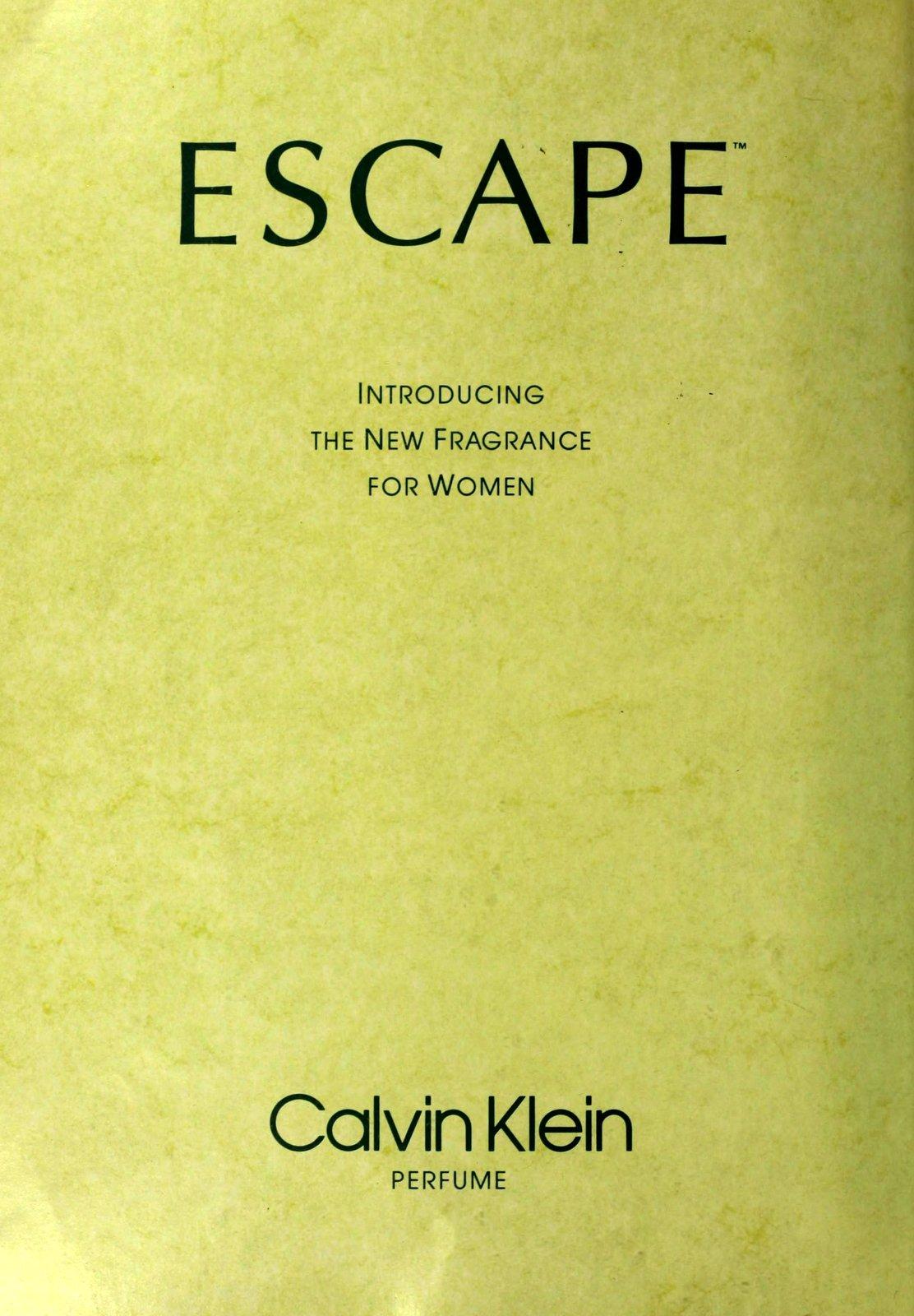 Escape from Calvin Klein (1991)