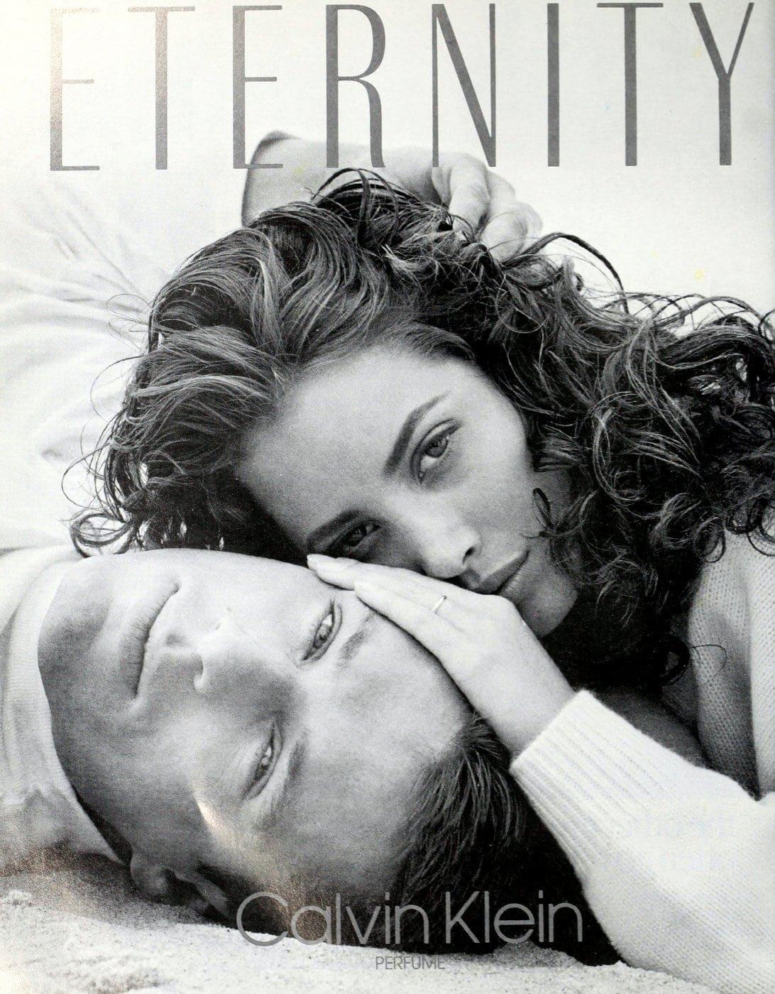 Calvin Klein Eternity fragrance - 1988
