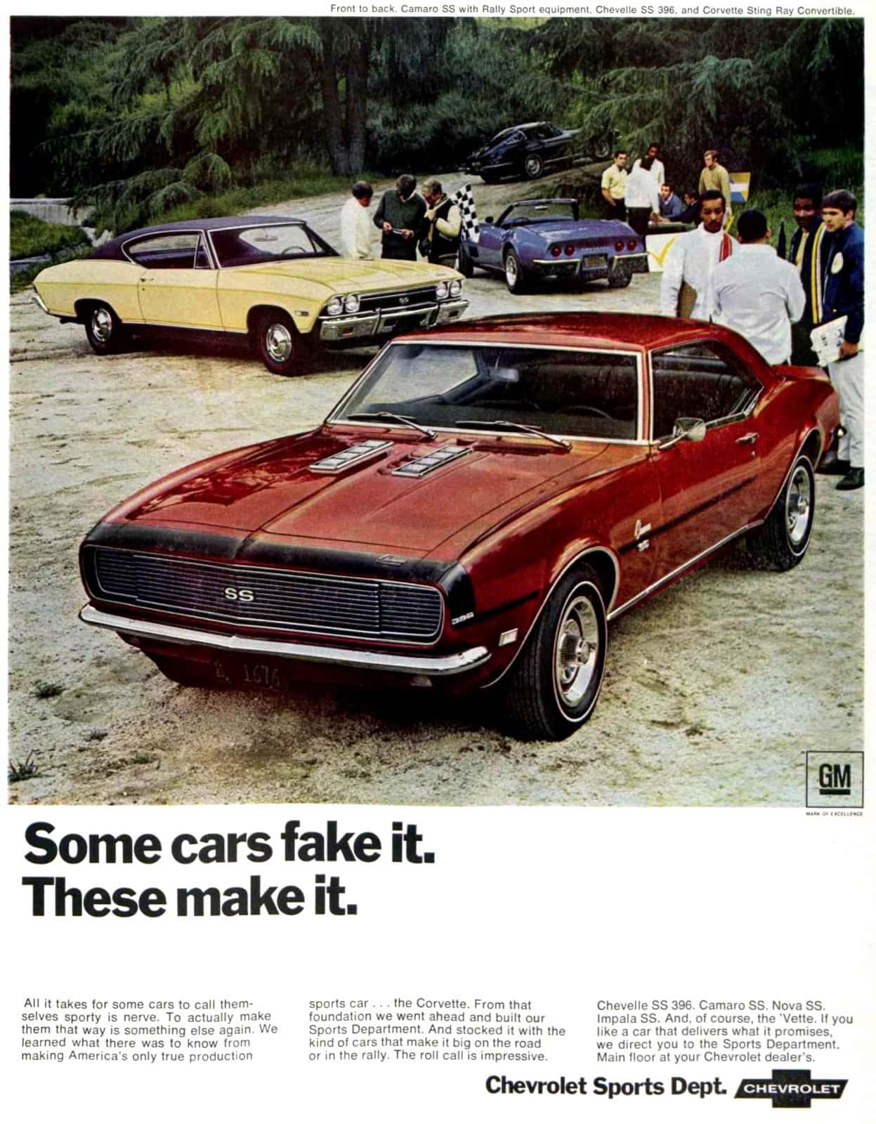 Camaro and other Chevrolet sports cars (June 1968)