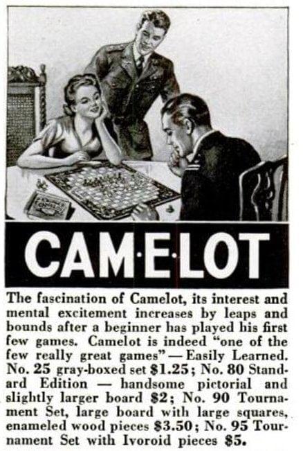 Camelot - 1944 board games