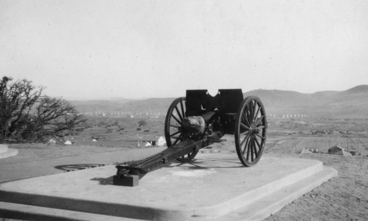 Camp Roberts cannon