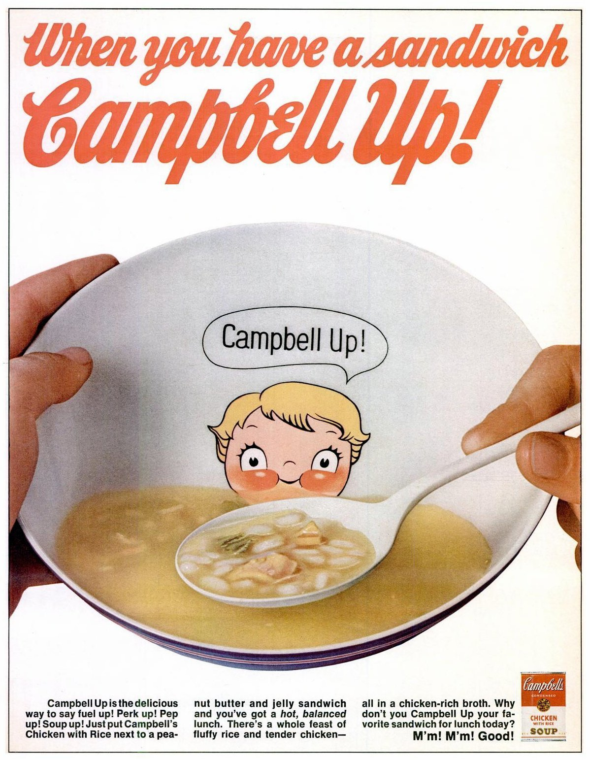 Campbell Kids soup bowl (1969)