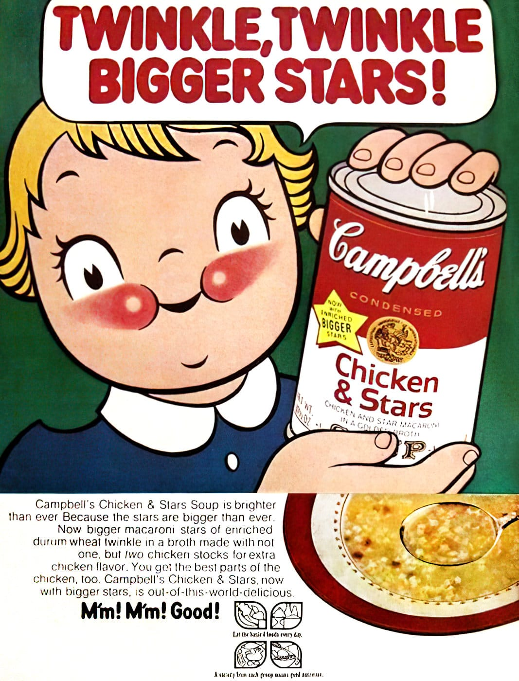Campbell's Soup - Chicken and Stars (1970)