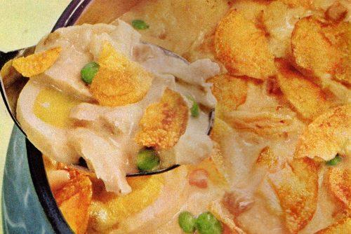 Campbell's tuna crunch casserole retro recipe (1)