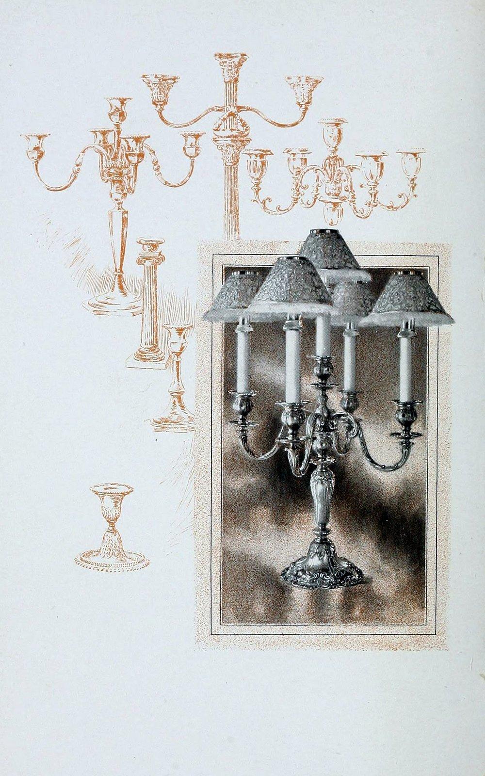 Candelabra and Candlesticks