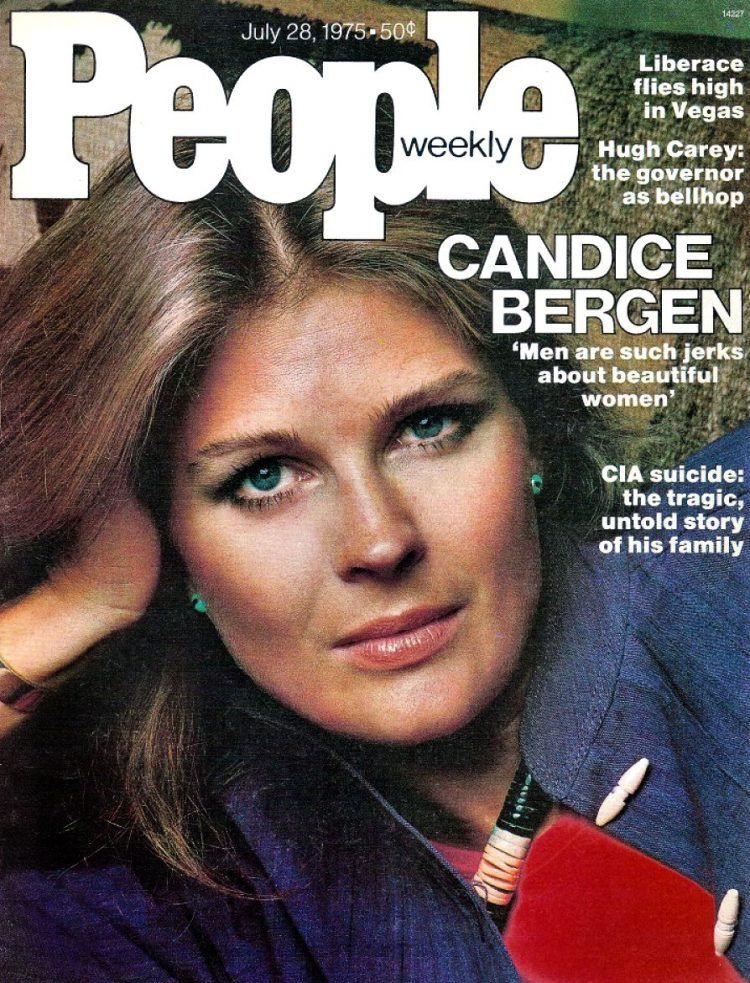 Candice Bergen cover of People - July 28 1975