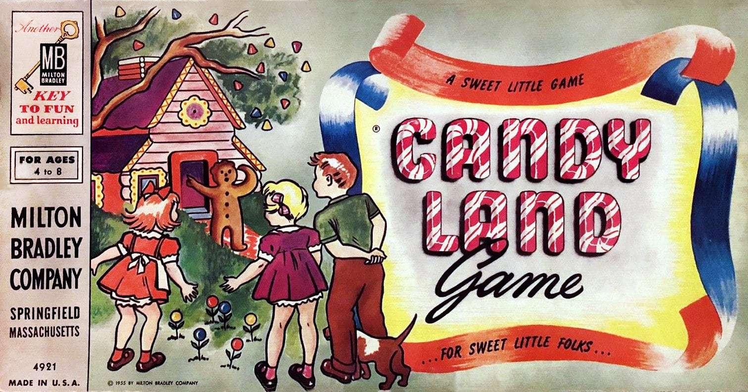 Candyland game 1950s