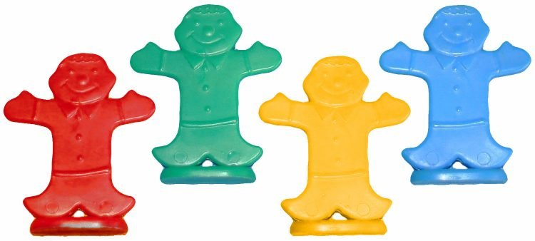 Candyland game gingerbread men pieces