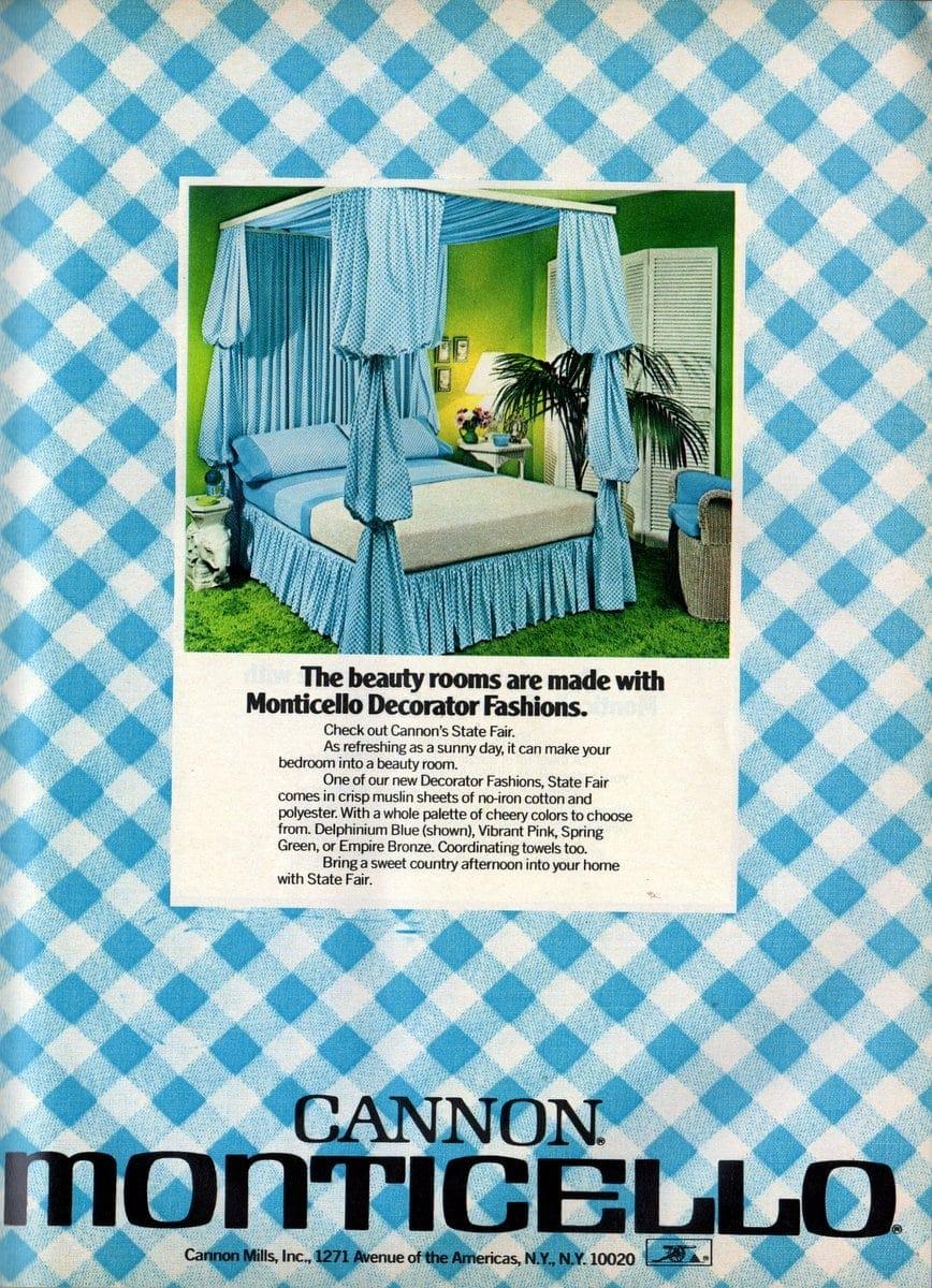 Cannon's State Fair retro sheets 1973