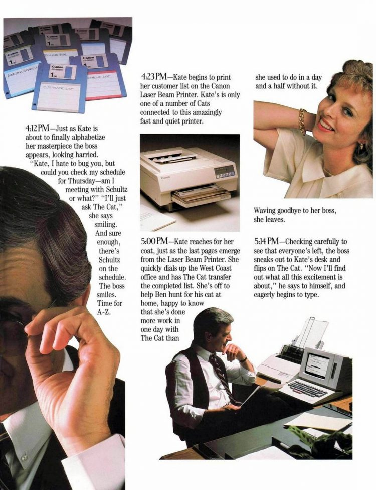 Canon Cat word processor from 1987 (1)