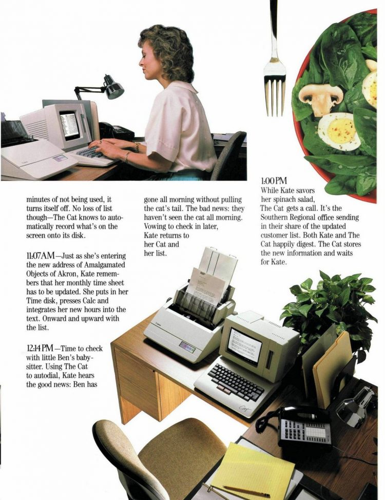 Canon Cat word processor from 1987 (5)