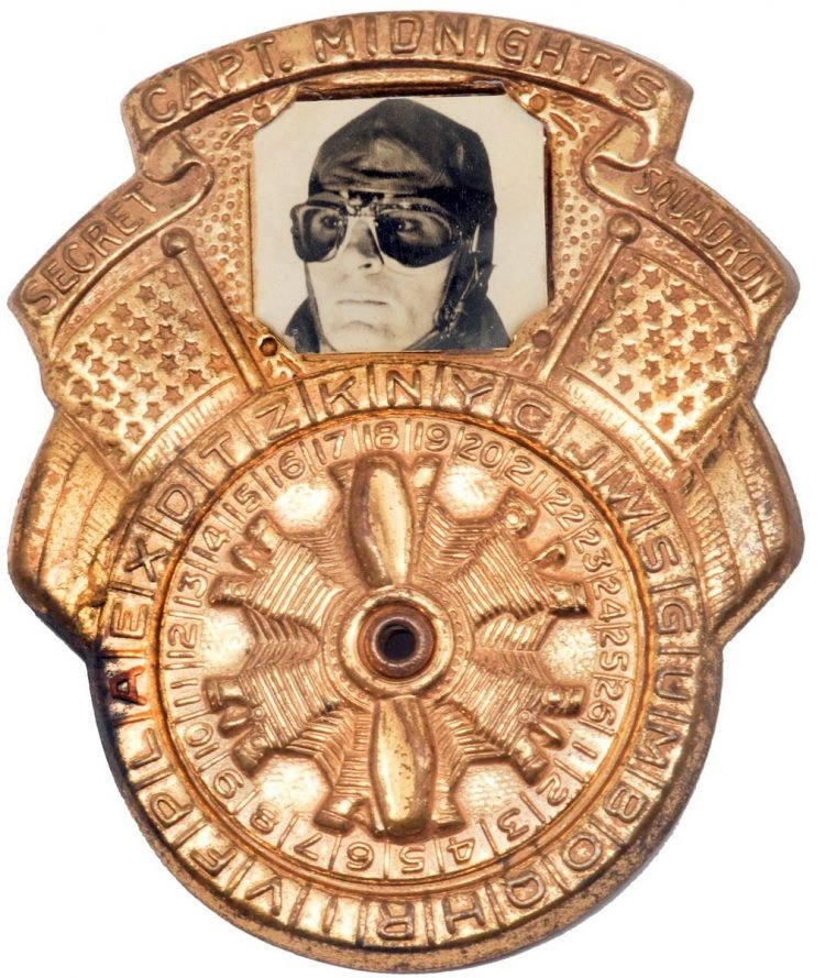 Captain Midnight decoder badge