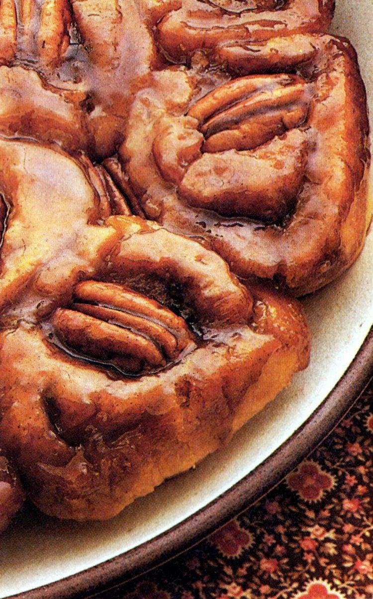 Caramel rolls - Bisquick