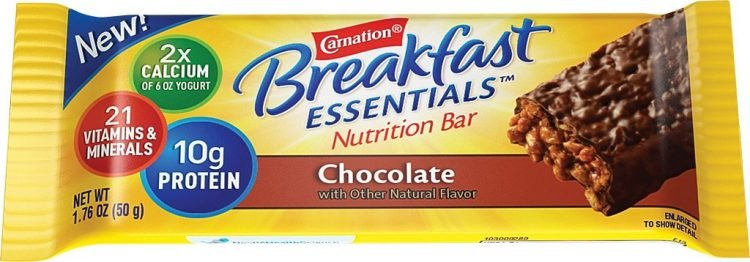 Carnation Breakfast Essentials Nutrition Bars - Flat