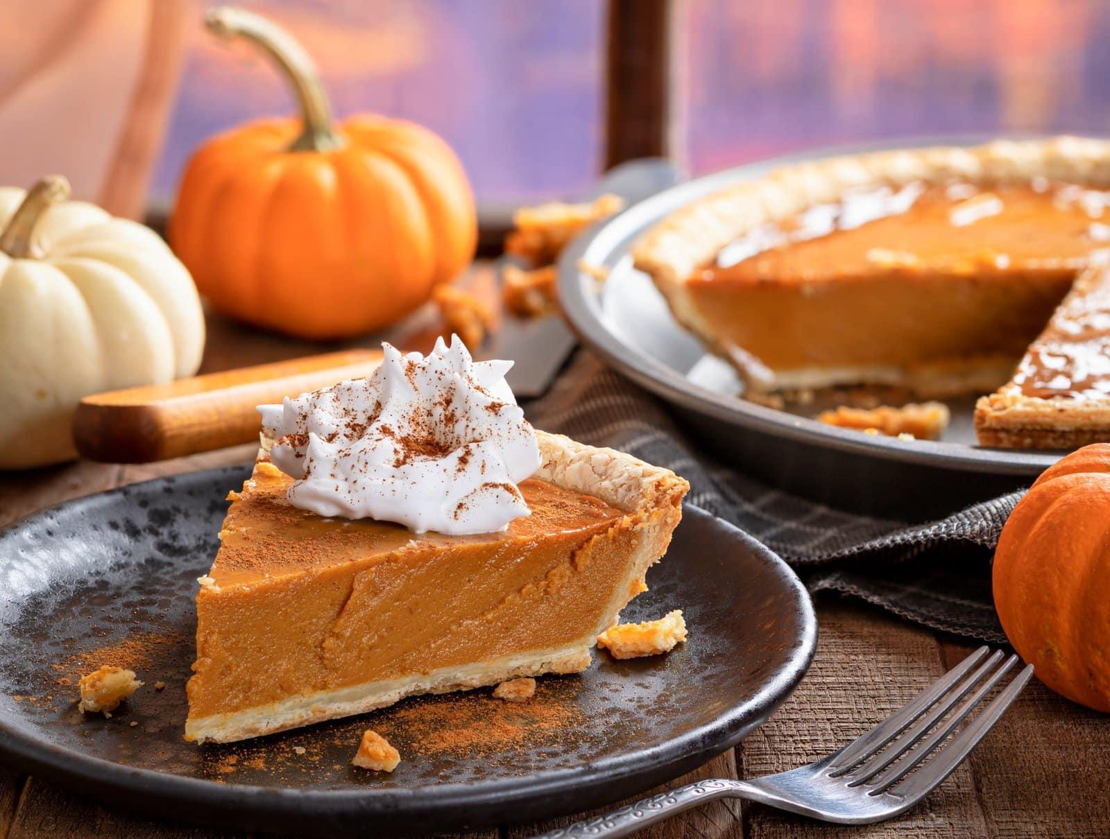 Carnation's famous pumpkin pie vintage recipe