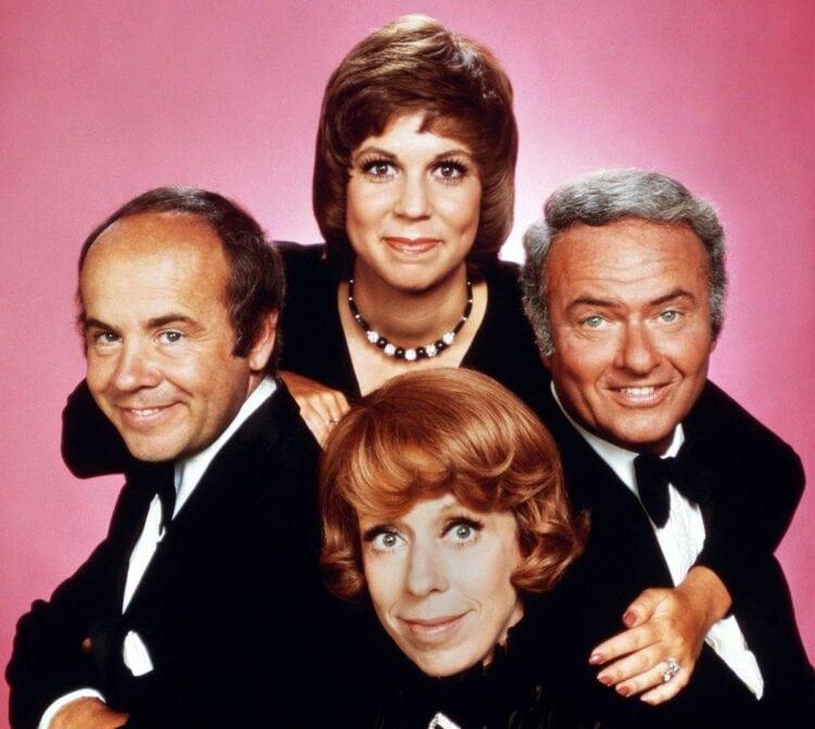 Carol Burnett Show cast - c1975