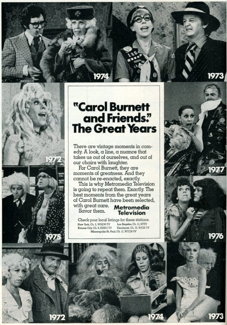 Carol Burnett and Friends - 1970s (from 1978)