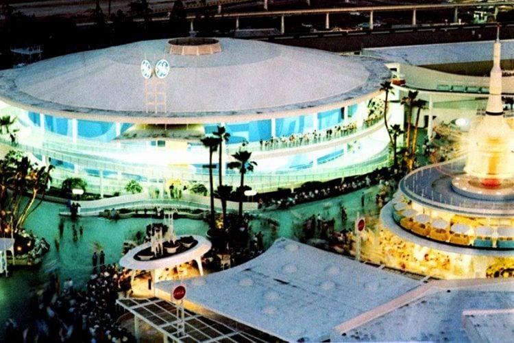 Carousel of Progress GEs 21st century city at Disneyland 1960s