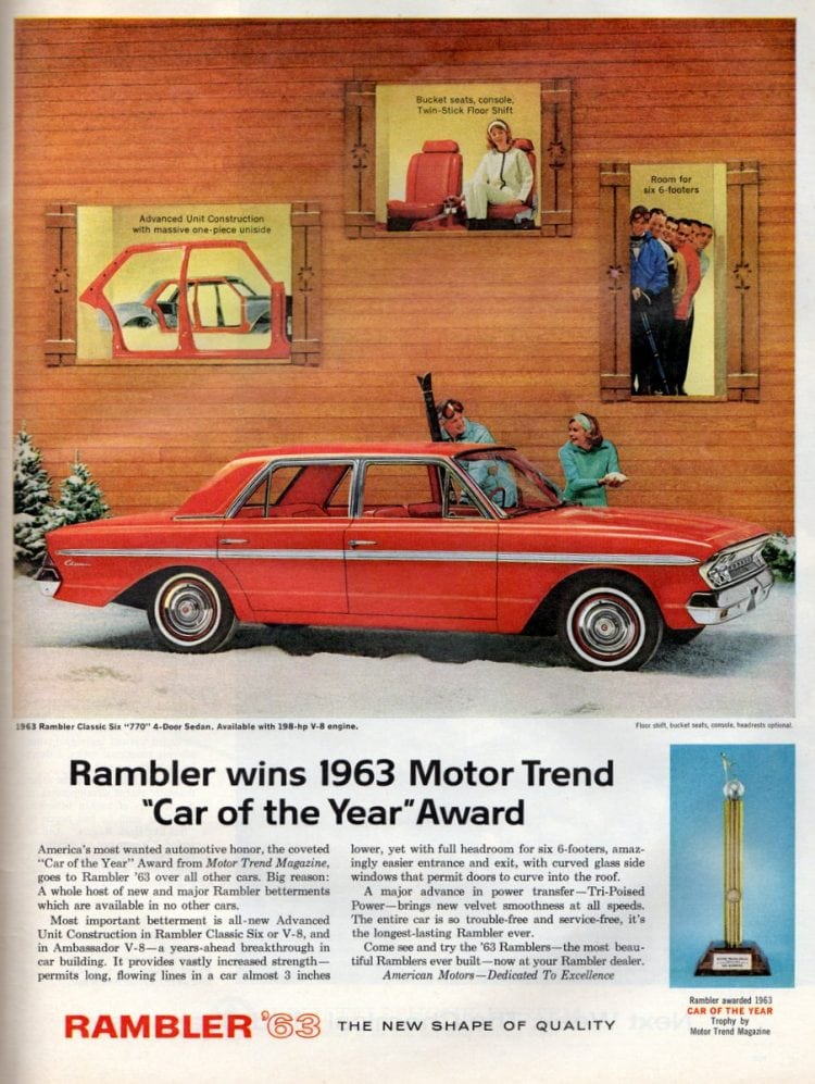 Cars - 1963 Rambler Classic Six 770 4-Door Sedan
