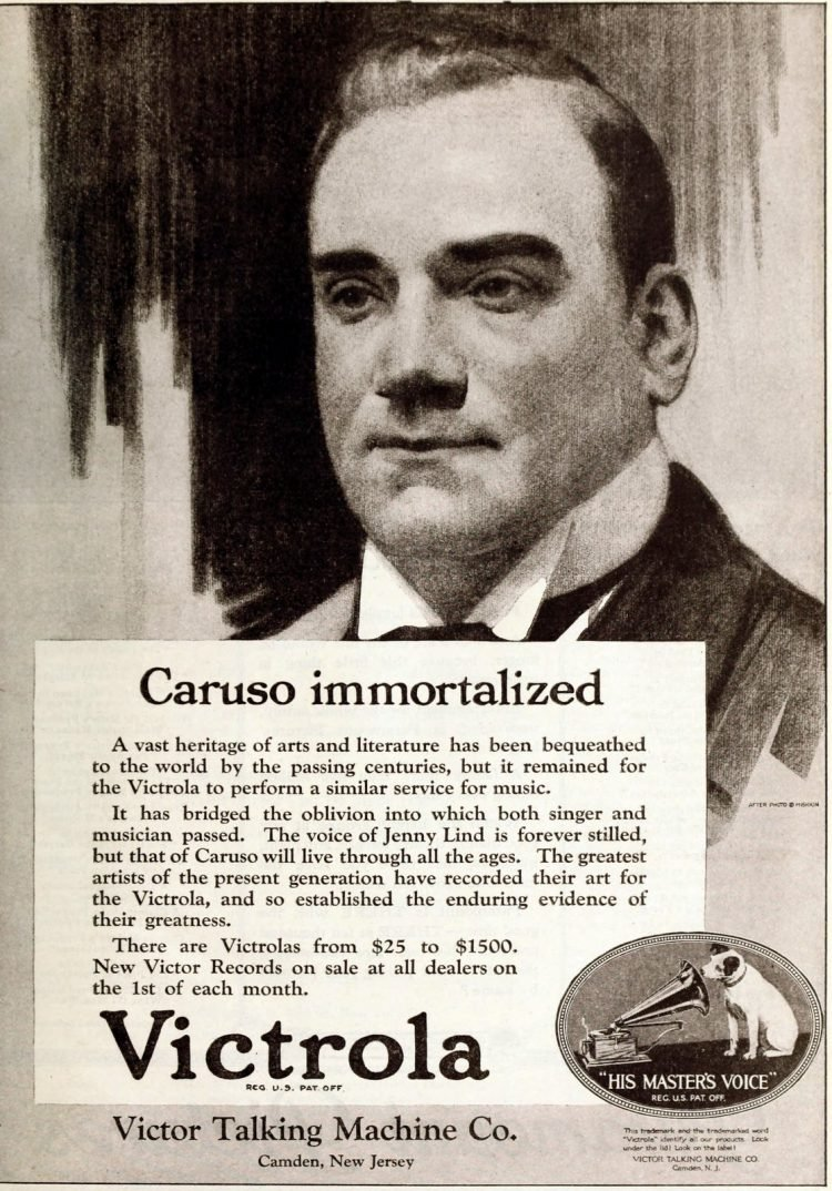 Caruso for Victrola - Victor Talking Machine Co