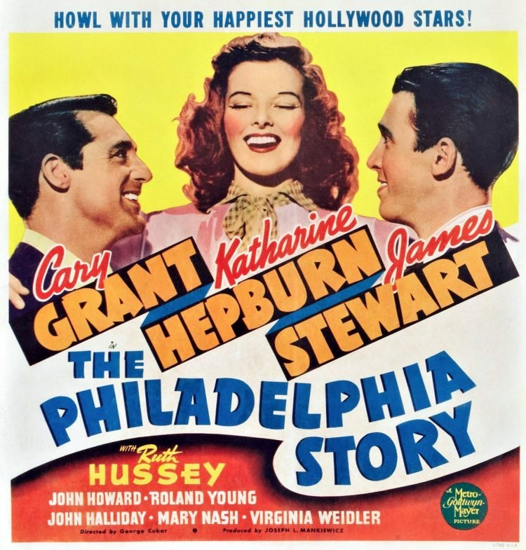 Cary Grant Philadelphia Story movie 1940