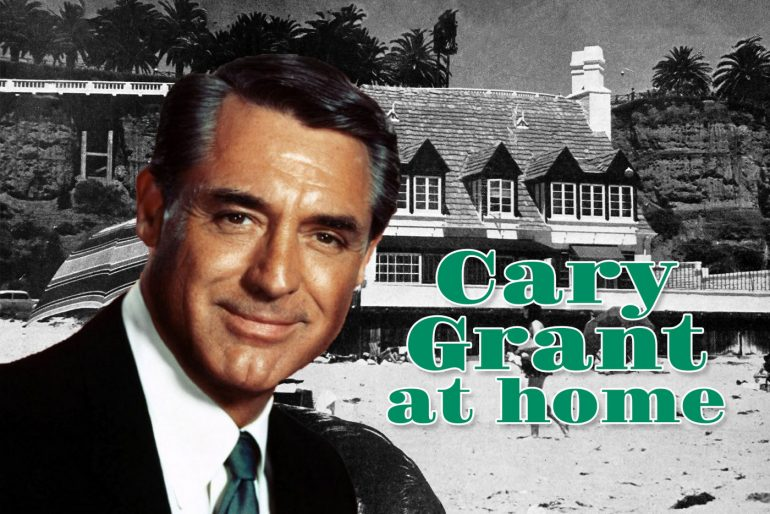 Cary Grant's old home in Santa Monica