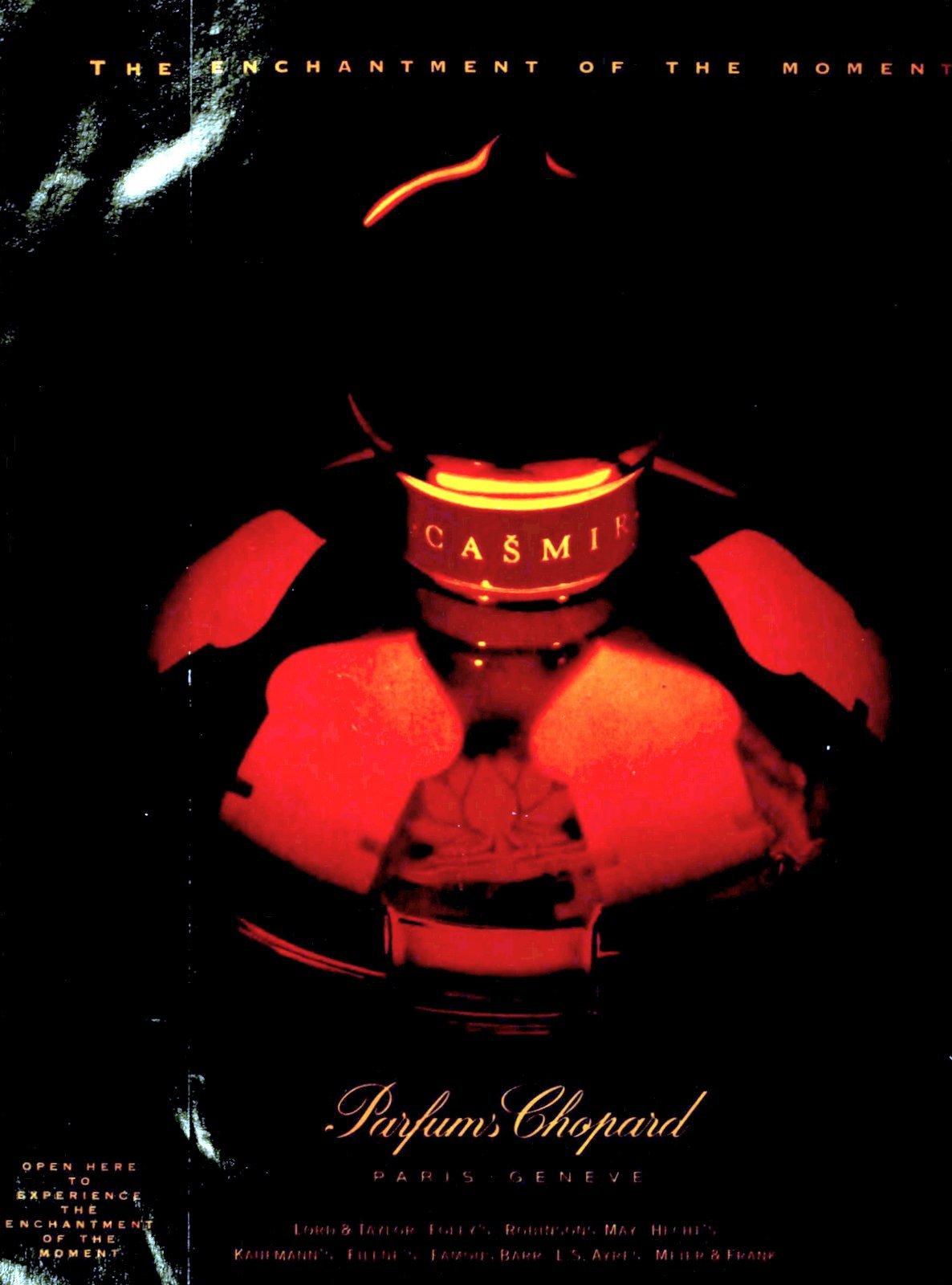 Casmir perfume from Parfums Chopard (1994) at ClickAmericana.com