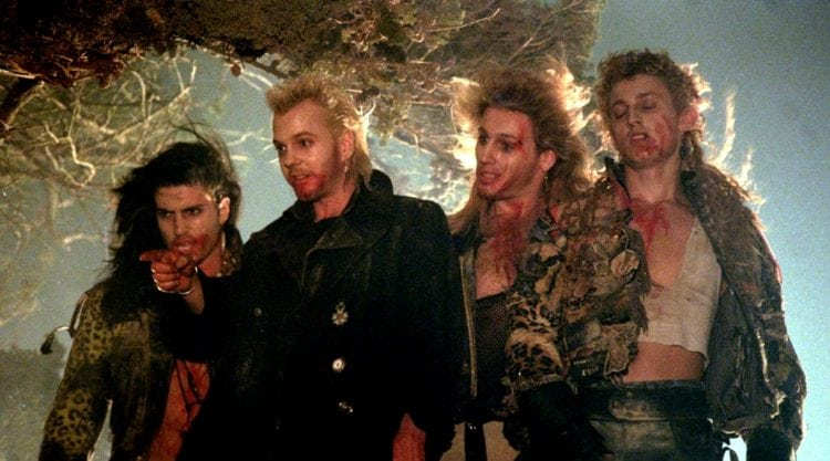 Cast of 1987 movie The Lost Boys