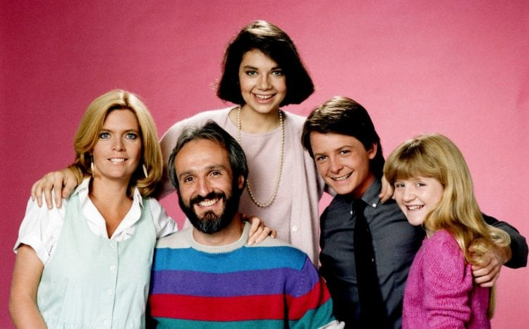 Cast of Family Ties TV show - The Keatons