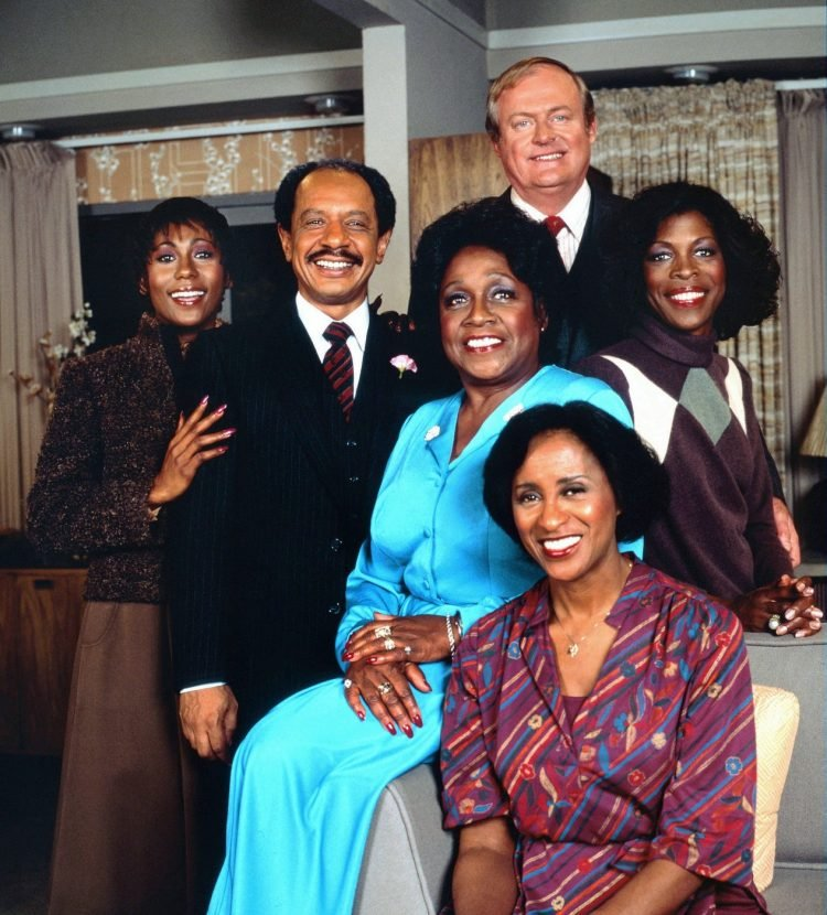 Cast of The Jeffersons TV show - 1970s sitcom