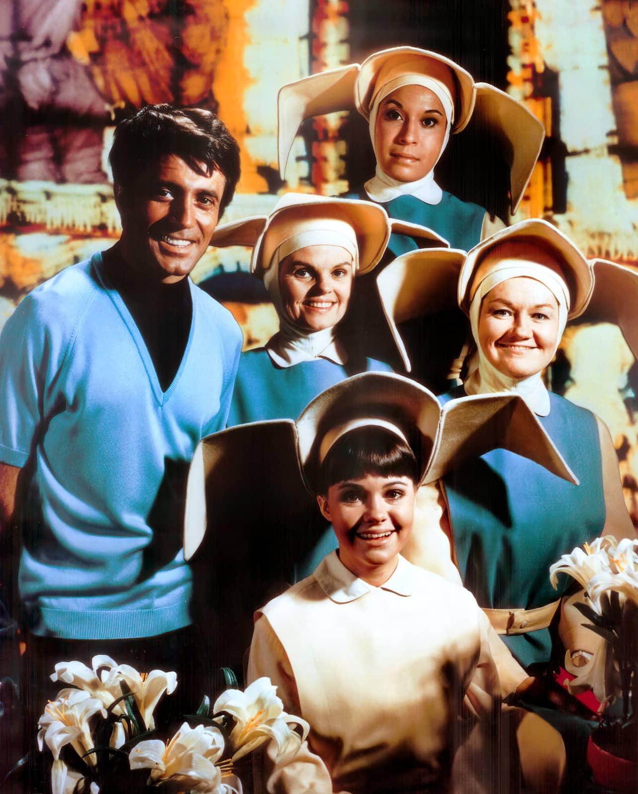 Cast of the old Flying Nun TV show