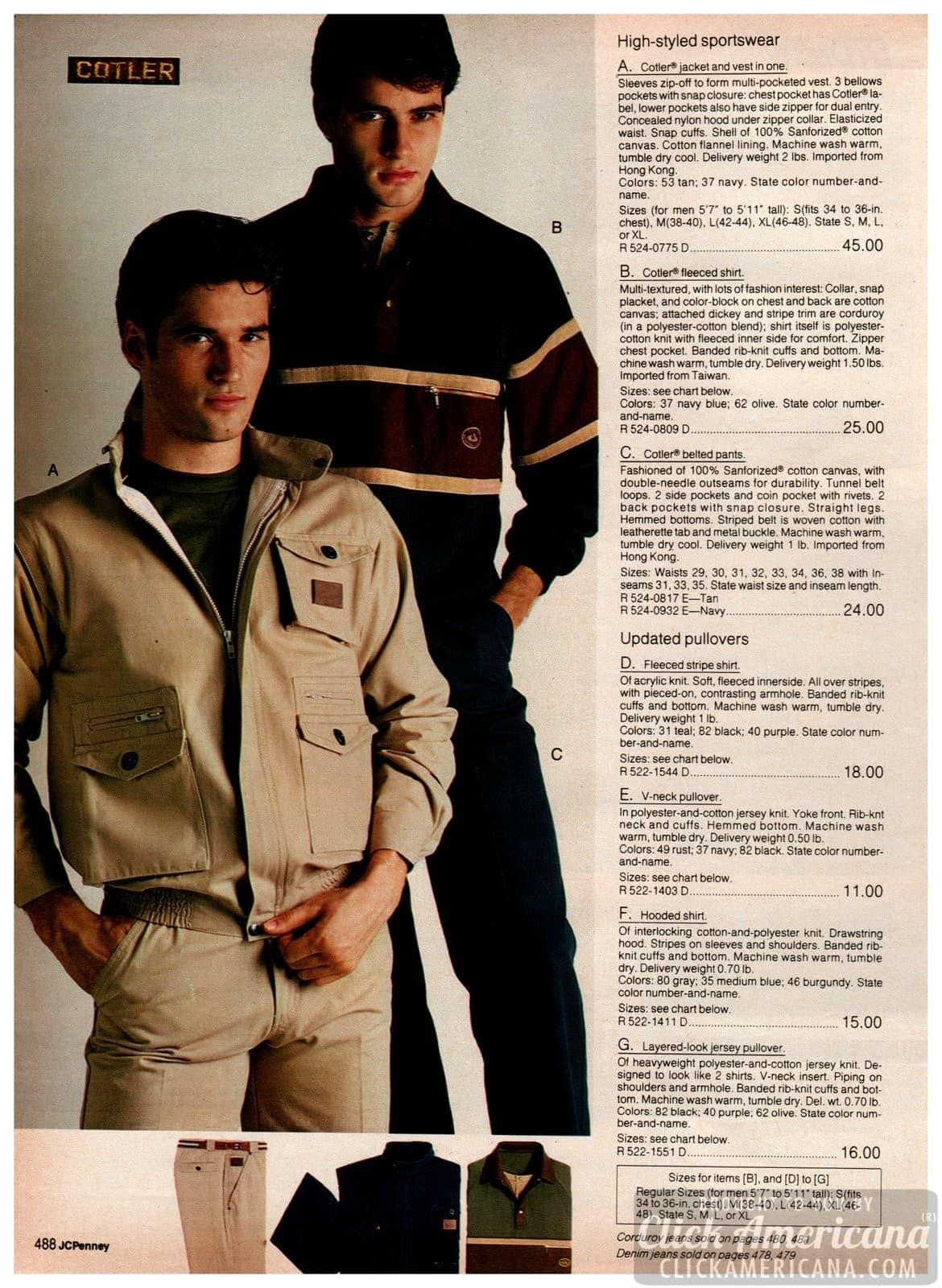 Stylish sportswear for men