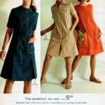 The gadabout zip-ups - A-line dresses with zippers, pantdresses, zippy skimmes with ric-rac trim and matching kerchief