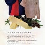 Vintage ski clothing and sweaters for men