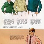 Gifts for boys - sweaters, dress shirts and corduroy slippers