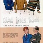 Vintage gifts for boys - clothing, including sweaters, blazers and sport coats