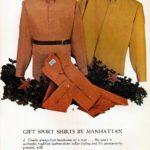 Sixties gift sports shirts by Manhattan - checks, solid Oxford, Madaco cloth