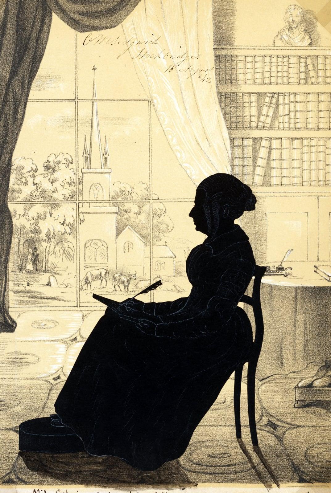 Sedgwick by Auguste Edouart