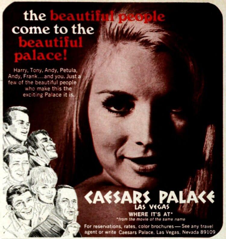 Ceasar's Palace Las Vegas - 1969 - Sinatra