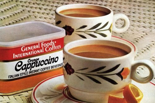 Celebrate the moments of your life See old General Foods International Coffee ads