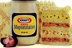 Celebration sandwich loaf recipe with mayo 1973