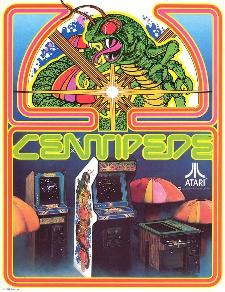 Centipede arcade game 1981
