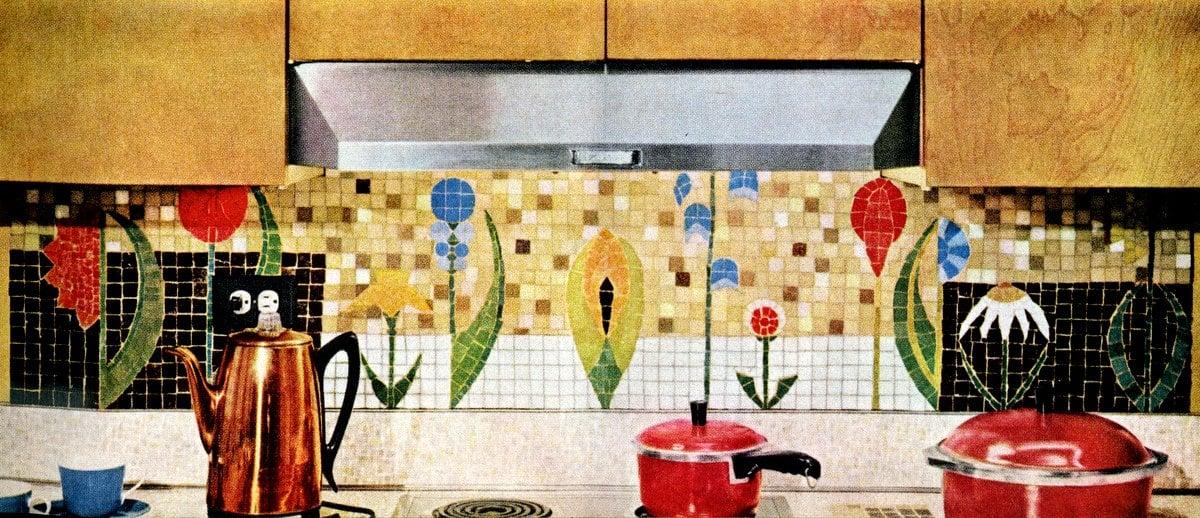 Ceramic tile from 1961