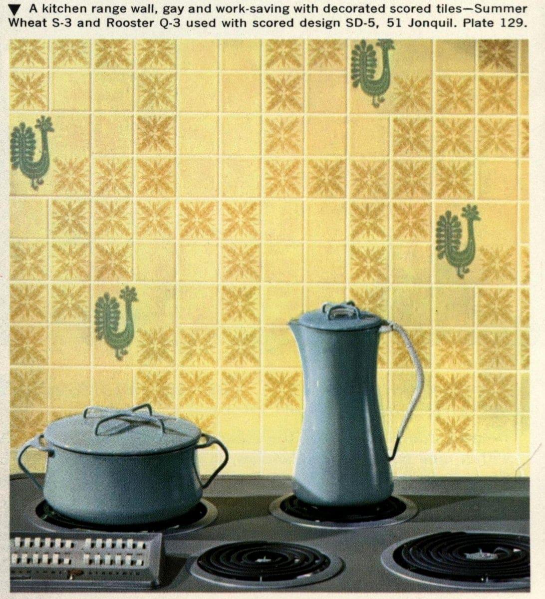 Ceramic tile kitchen (1962)