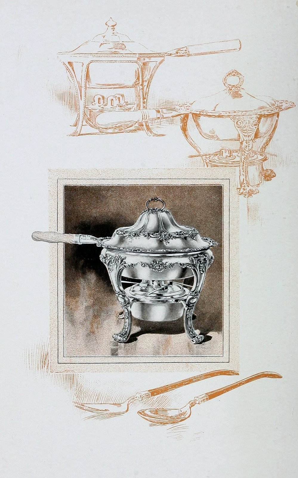 Chafing dishes and Furshings